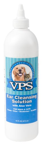 VPS Ear Cleansing Solution for Dogs and Cats, 16-Ounce, My Pet Supplies