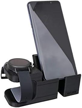 Artifex Design Stand Configured for Skagen Falster 2 Connected HR Smartwatch, Will not fit Skagen Falster 1 (Last Gen) Non HR Model (Combo)
