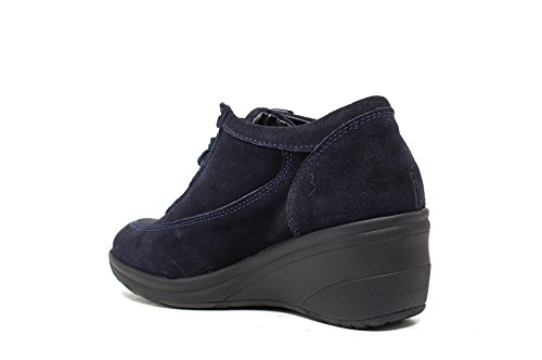 Only IWedge Sneakers durchschnittliche Frau blue suede 4265 neue Herbst-Winter-Kollektion 2016 2017