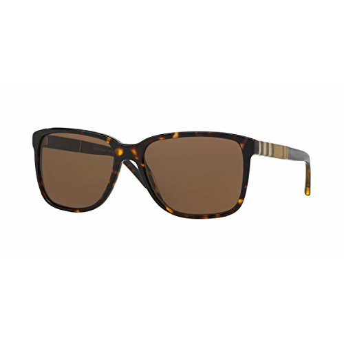 Burberry 3002-73 Tortoise 4181 Wayfarer Sunglasses Lens Category 3 Size - Burberry Wayfarer Sunglasses