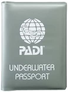 PADI ポケットログ ポケットトレーニングレコード用カバー