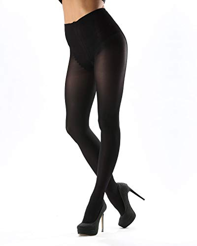 Levante Levante Model Top Women's Control Top Opaque Tights Nero MODELTOP70 L ()
