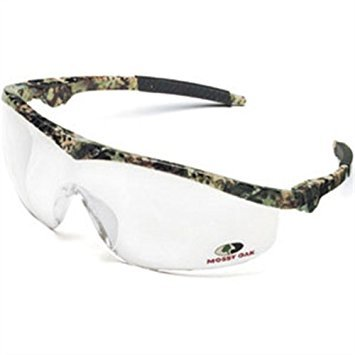 Protective Eyewear, Safety Glasses, Nylon Mossy Oak Frame, Clear - Eyewear Oak