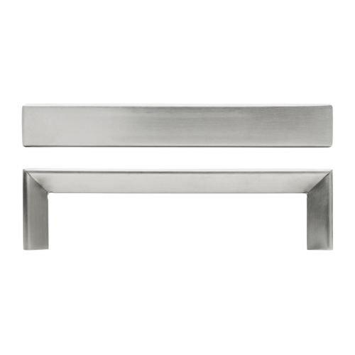 IKEA TYDA – mango, acero inoxidable/, 2 unidades – 138 mm: Amazon ...