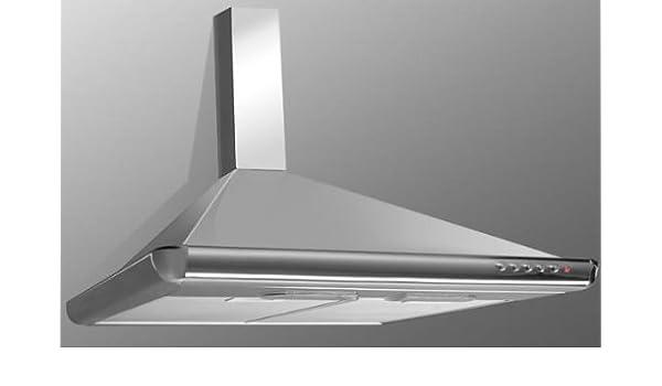 AKPO WK-5 ELEGANT TURBO 60 - Campana extractora (iluminación halógena, acero inoxidable): Amazon.es: Grandes electrodomésticos