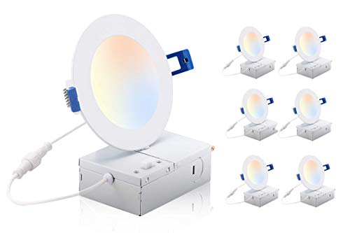 4 inch 3 color recessed light