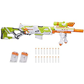 Amazon.com: Nerf N-Strike Longstrike CS-6 Dart Blaster ...