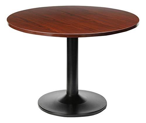 Lorell Round Tabletop, 48-Inch, Mahogany ()