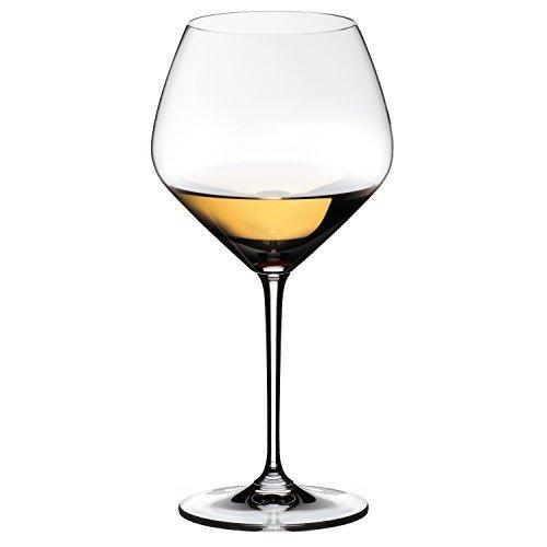 Riedel Vinum Extreme Leaded Crystal Chardonnay Wine Glass, Set of 4
