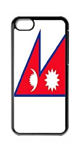 HeartCase Hard Case for Apple iPhone 5C(Flag of Nepal )