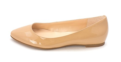 Cole Haan Womens Ronaldesam Pointed Toe Slide Flats Tan DC1OJf