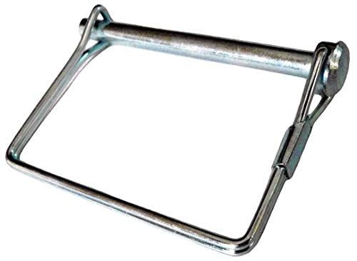 """Fabory Steel Double Wire Snap Safety Pin, Zinc Finish, 3/8"""" Pin Dia. U39684.037.0250-1 Each from FABORY"""