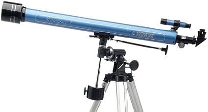 Montaje del telescopio cables de control de movimiento lento