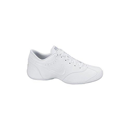 Women's Nike Cheer Unite Training Shoe White/Matte Silver Size 8.5 M US