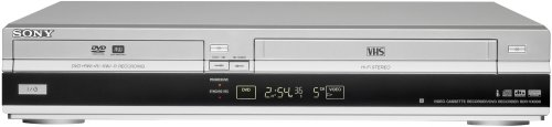 Sony RDR-VX530 DVD Recorder & VHS Combo Player