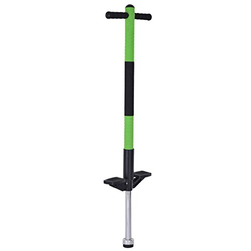 COSTWAY Pogo Stick Jump Stick for Children and Adults Healthy Fun Exercise Green + Free E-Book Only by eight24hours by COSTWAY