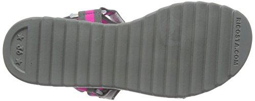 Ricosta graphit Fille 456 pink Ouvertes Sandales Grau Gris Nele YwqnCTYxpr