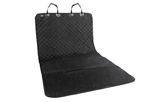 Cheap Universal Car Seat Covers for Dogs: Cargo Liner / Seat Protector for Cars, Trucks & SUVs – Waterproof, Heavy Duty Pet Carseat Cover for Trunk or Back Seats – Travel Accessories for Pets – Black