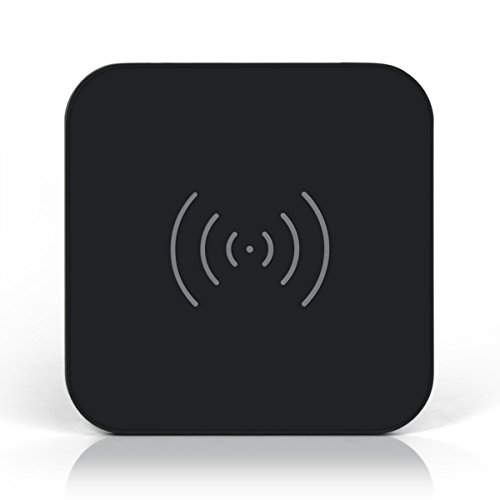 CHOETECH Fast Wireless Charger QI Fast Wireless Charging Pad for Samsung Galaxy Note 8 S8 S8 Plus S7 S7 Edge Note 5 S6 Edge Plus, Standard Charge for iPhone X / 8 / 8 Plus (No AC Adapter)