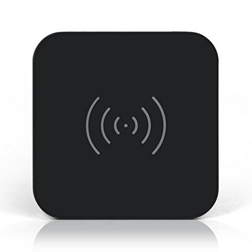 Wireless Charger, CHOETECH 10W Fast Wireless Charger for Galaxy S9, S9 S8 Plus,Note 8, S8, S8 Plus, S7, & S7 Edge, Standard Wireless Charging Pad for iPhone X, 8, & 8 Plus (No AC Adapter)