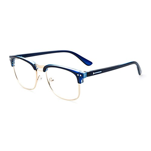 LOMOL Retro Personality Student Style Transparent Lens Frame Glasses For - Sunglasses Prices Www.ray-ban