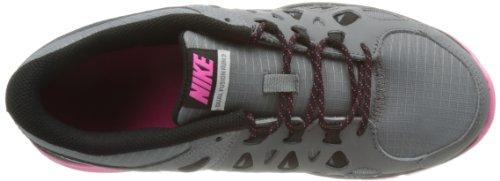 Nike Womens Dual Fusion Runing 2 (gs) Cool Grijs / Roze / Zwart 6 Jaar
