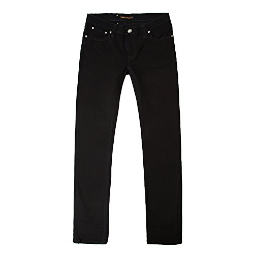 Nudie Jeans Men's Tight Long John Jean 111199 Black SZ 31/32