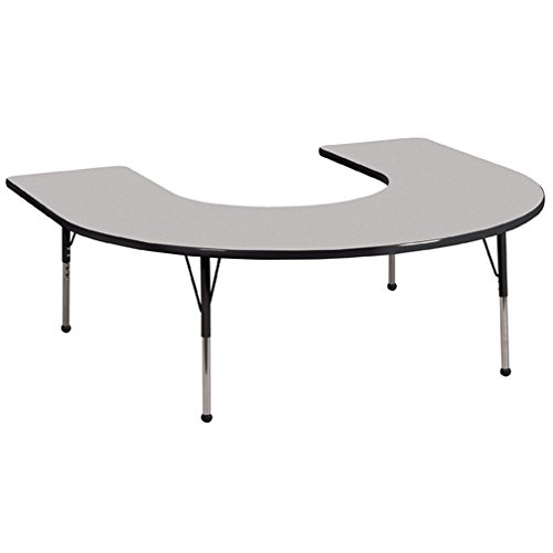 Horseshoe Table For Classroom - 8