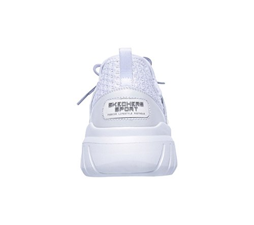 Homme Baskets Skechers white Elite Flex Enfiler White rII4ERq