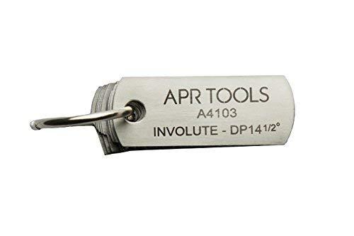 Gear Tooth Gauge APR (14-1/2 Deg. -