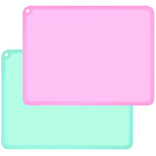 Silicone Kids Placemats, Non-Slip Kids Baby Toddlers Table Placemat, BPA Free Children