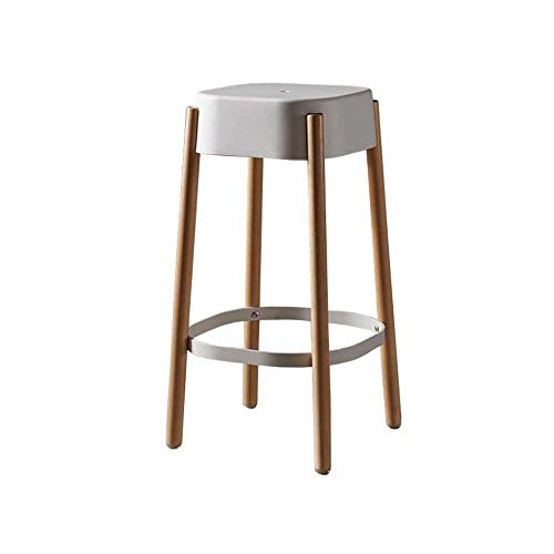 - Barstools Bar Stools Modern Kitchen Breakfast Front Desk Stools Tall Chairs Wooden and Plastic