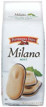 Pepperidge Farm Mint Milano Cookies, 7-ounce bag (pack of 6) (Pepperidge Farm Mint Cookies)