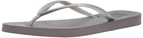 (Reef Women's Escape Sandal Silver 9 M)
