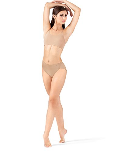 Body Wrappers Adult High Jazz Cut Briefs BWP290NUDS Nude Small ()
