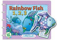 Little Touch LeapPad Rainbow Fish Storybook and Finger Puppet Gift Set
