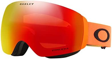 1aad3584ee1 Oakley Flight Deck XM Asian Fit Adult Snowmobile Goggles - 2018 Team Oakley  Prizm Torch