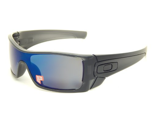 bed5af59f10 New Oakley Batwolf 9101-36 Matte Black Ink Ice Iridium Polarized Sunglasses