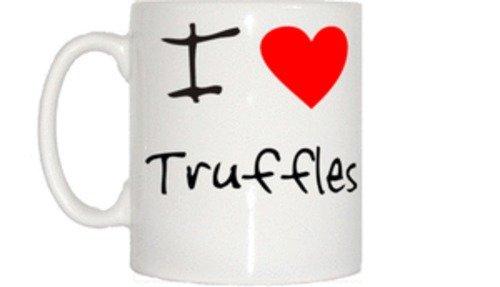 (I Love Heart Truffles Mug)
