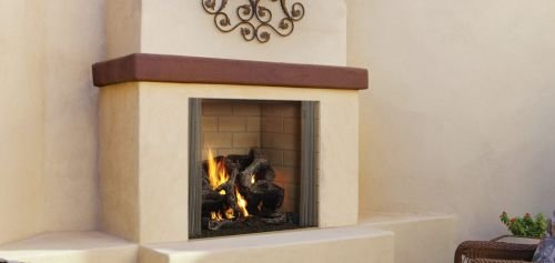 42″ Outdoor Castlewood Wood Fireplace