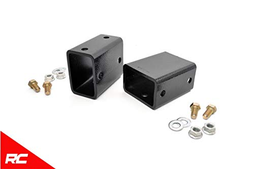 Rear Bump Stop Kit - Rough Country Rear Bump Stop Extension Kit Compatible w/ 2007-2018 Jeep Wrangler JK 1119