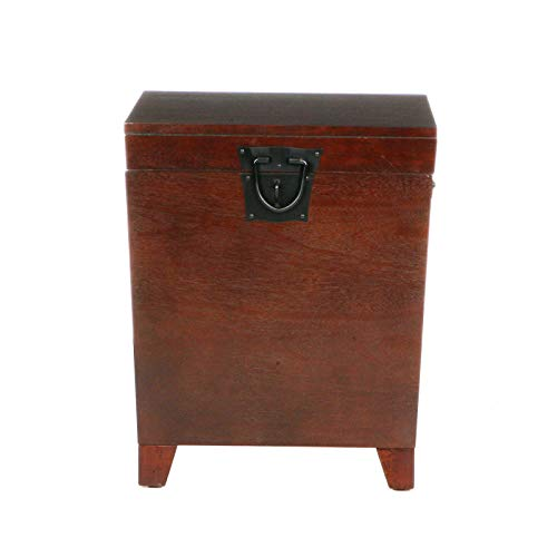 Rabinyod Bulan Expresso Storage Pyramid Trunk END Table