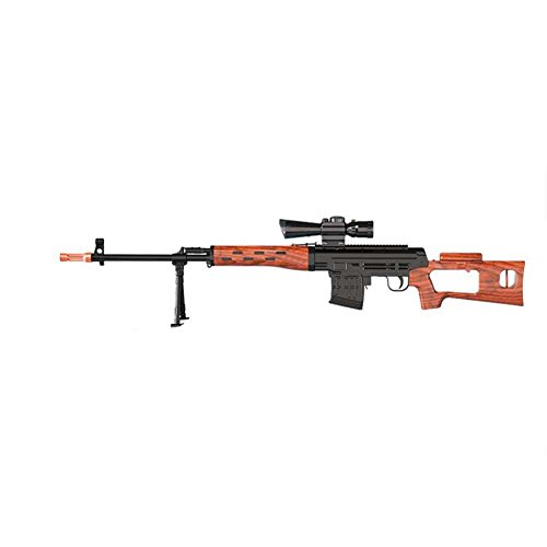 NOQ Sniper Rifle/Crystal Bullet Gun/Toy Gun Sniper/Ultra Long Range Of Up To 20 Meters/Christmas Gifts/Water Polymer Ball(Wood Color) (Wood Sniper Rifle)