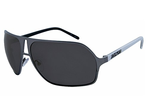 DSO Sunglasses GUAGE (black chrome white / smoke lens, one - Dso Sunglasses