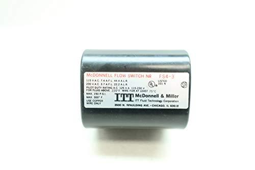 MCDONNELL & MILLER FS4-3 Flow Switch 115/230V-AC