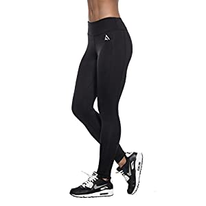 ACTIVE 1st Full Length Leggings with High Waistband for All Sports and Fitness Activities