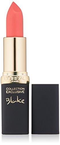 Lipstick Pink Coral - L'Oréal Paris Colour Riche Collection Exclusive Lipstick, Blake's Pink, 0.13 oz.