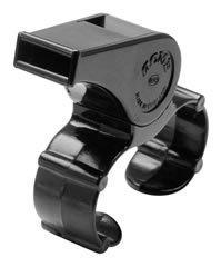 ACME THUNDERER MODEL 477/660 FINGER GRIP WHISTLE SMALL BLACK OFFICIAL REFEREE ()