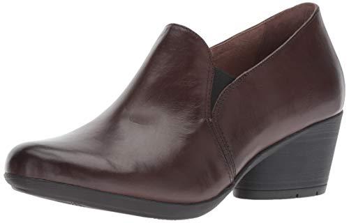 Chocolate Burnished Leather - Dansko Women's Robin Loafer Flat, Chocolate Burnished Calf, 41 M EU (10.5-11 US)