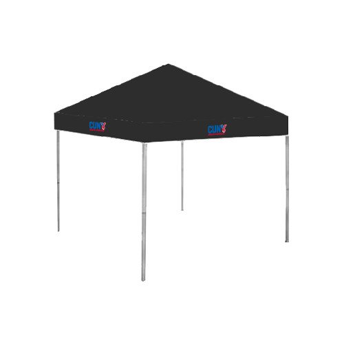CUNYAC 9 ft x 9 ft Black Tent 'Official Logo' by CollegeFanGear